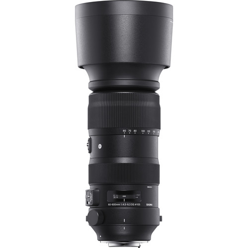 Sigma 60-600mm f/4.5-6.3 DG OS HSM Sports Lens (Canon)