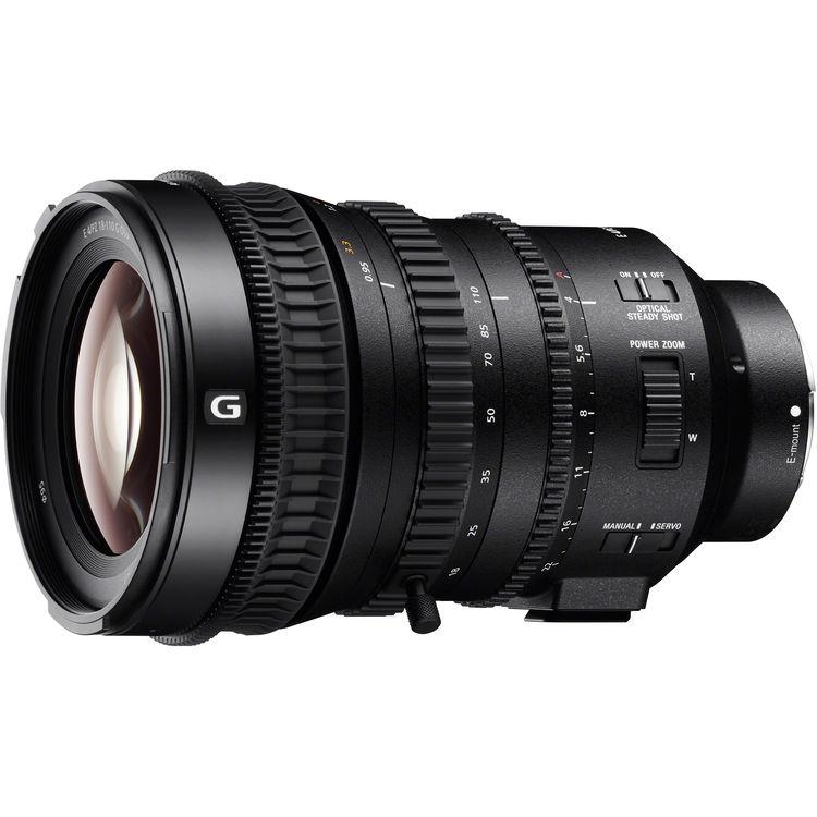 Sony E PZ 18-110mm F4 G OSS (SELP18110G)
