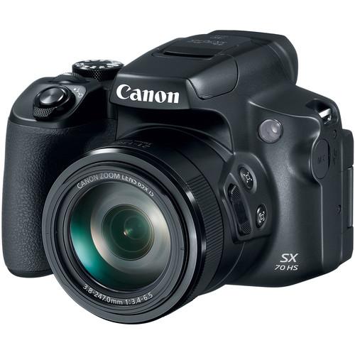 Canon Powershot SX70HS Digital Camera [Free 32GB SD Card]