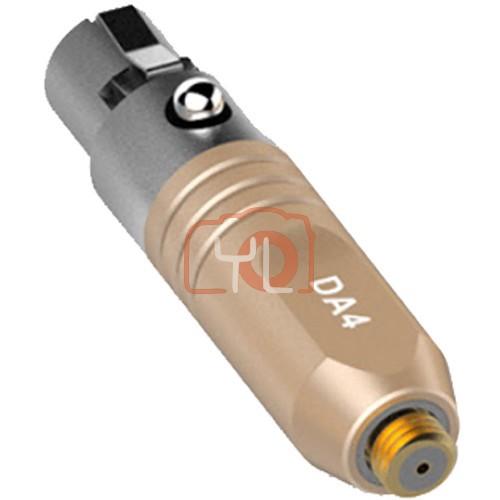 Deity Microphones DA4 Microdot to TA4F Adapter (Beige)