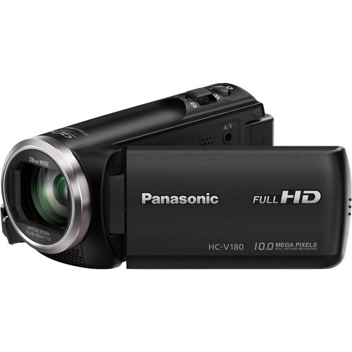 Panasonic HC-V180K Full HD Camcorder (FREE Extra Battery Redeem Online)