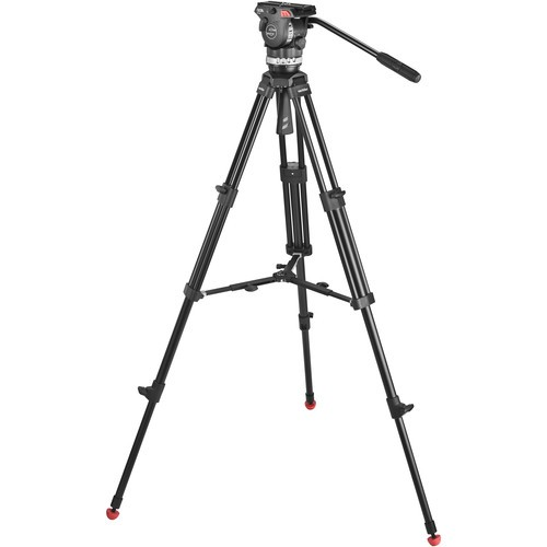 (Pre-Order) Sachtler Ace M Fluid Head with 2-Stage Aluminum Tripod & Mid-Level Spreader