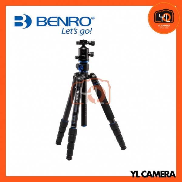 Benro GA268TB2 GoTravel Aluminum 4 Section Tripod with B2 Ball Head