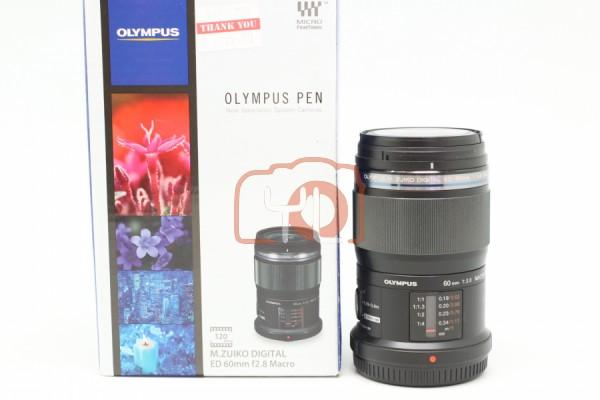 [USED-PUDU]-Olympus 60mm F2.8 M.ZUIKO DIGITAL Macro LENS 88%LIKE NEW CSN:ONDITION SN:ABQ203502
