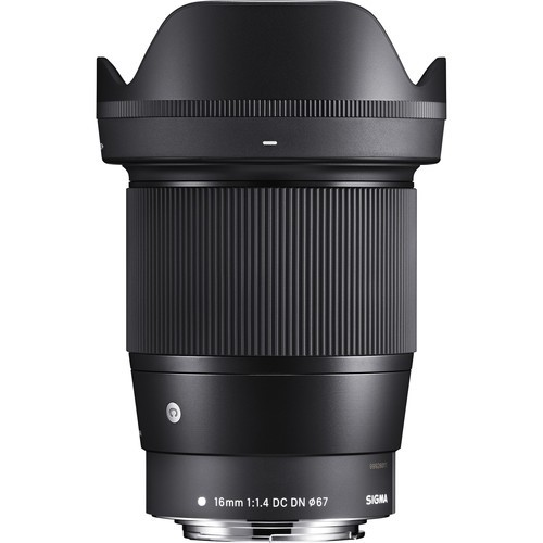 (Special Offer) Sigma 16mm F1.4 DC DN Contemporary Lens (Canon EF-M)
