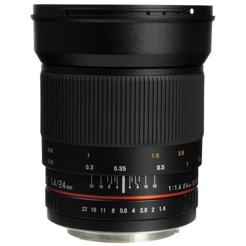 Samyang 24mm F1.4 ED AS UMC Wide-Angle Lens for Pentax K Mount
