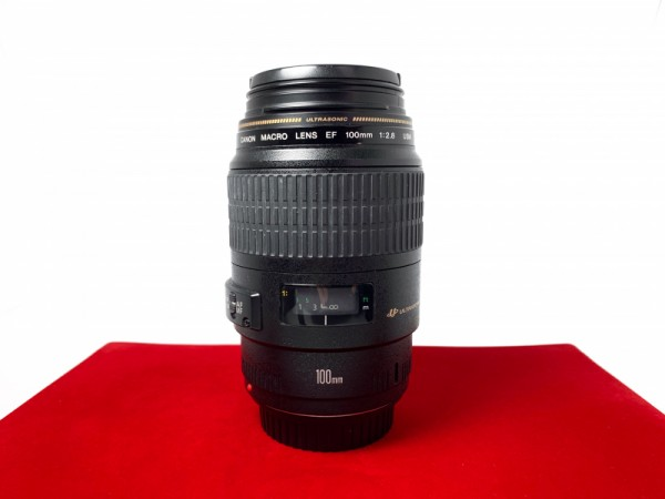 [USED-PJ33] Canon 100mm F2.8 Macros EF USM, 90% Like New Condition (S/N:76975920)