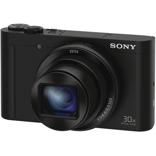 Sony DSC-WX500 Digital Camera - Black [Free 16GB SD Card]