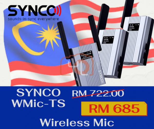 Synco WMic-TS Wireless Mic System (1 Trigger 2)