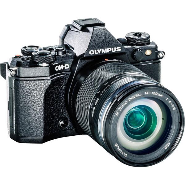 (RAYA PROMO) Olympus OM-D E-M5 Mark II + 14-150mm F4-5.6 M. Zuiko (Black) [Free M.Zuiko 45mm F1.8] (Free SanDisk 64GB 90MB/s SD Card)