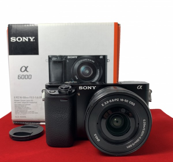 [USED-PJ33] Sony A6000 With 16-50MM F3.5-5.6 E OSS , 90% Like New Condition (S/N:4784713)