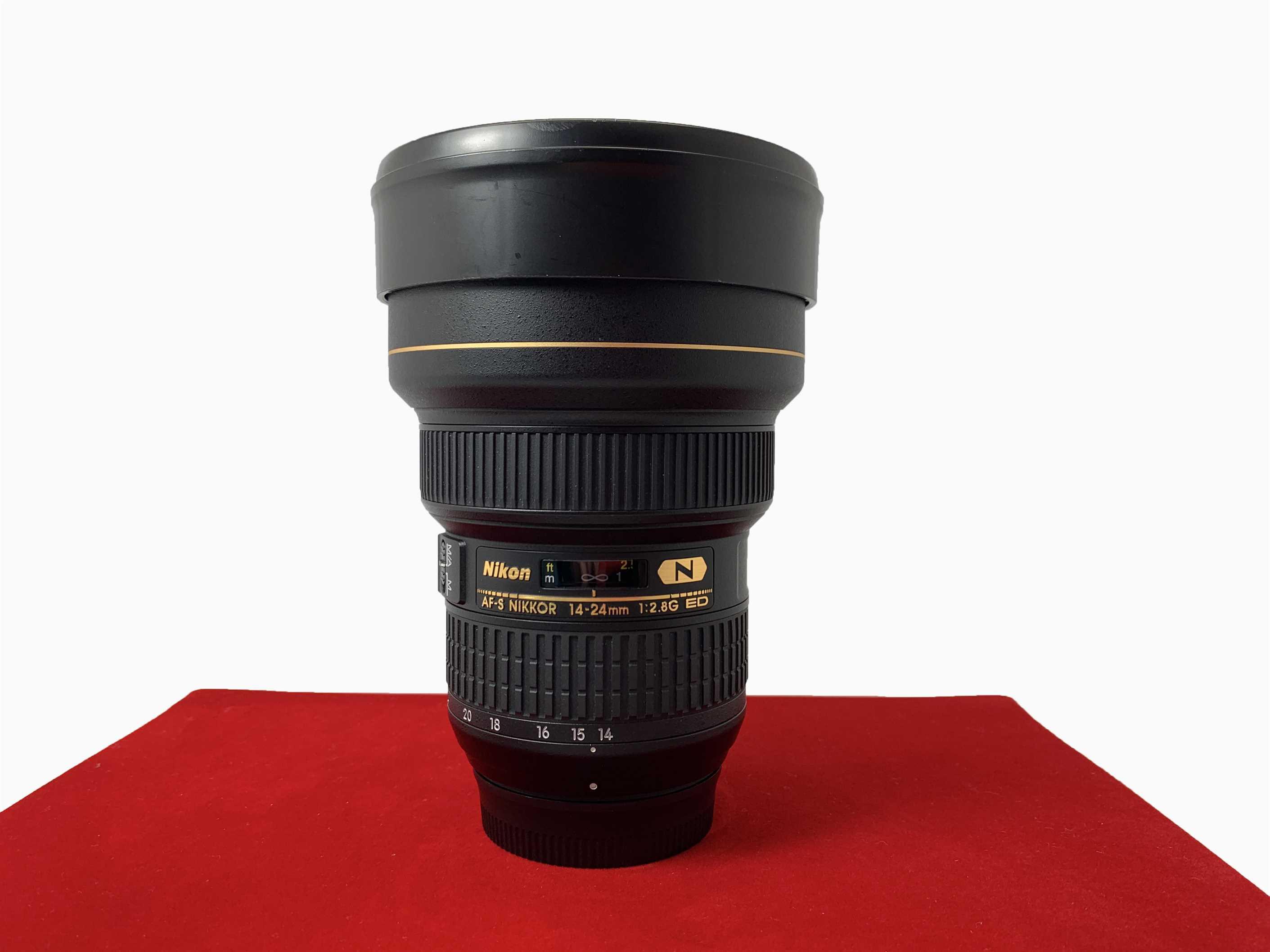 [USED-PJ33] Nikon 14-24mm F2.8G AFS  ED Nano  Lens, 95% Like New Condition (S/N:411646)