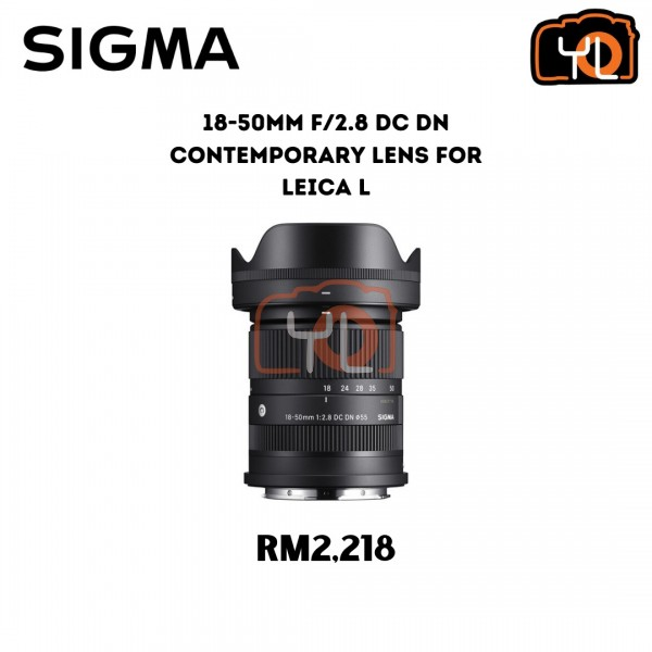 Sigma 18-50mm f/2.8 DC DN Contemporary Lens for Leica L