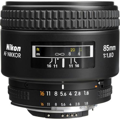 Nikon 85mm F1.8D AF D