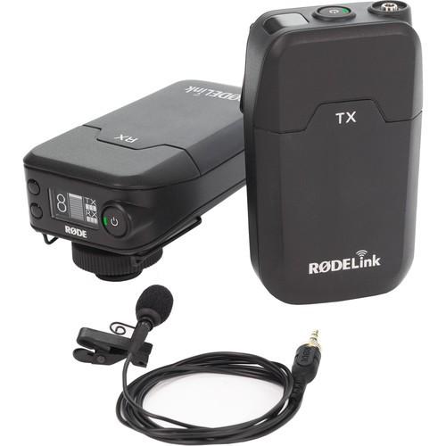 Rode RODELink Filmmaker Kit Digital Camera-Mount Wireless Omni Lavalier Microphone System