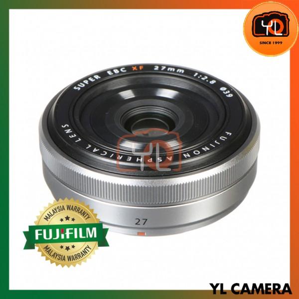Fujifilm XF 27mm F2.8 R (Silver)