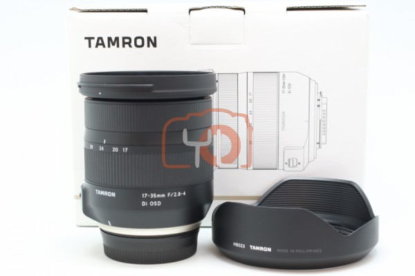 [USED-PUDU]-Tamron 17-35mm f/2.8-4 DI OSD Lens 98%LIKE NEW CONDITION SN:008774