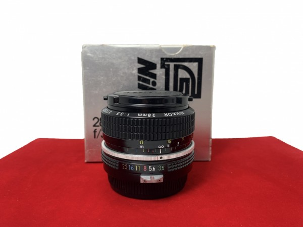 [USED-PJ33] Nikon 28MM F3.5, 99% Like New Condition (S/N:272029)