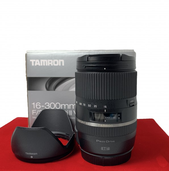[USED-PJ33] Tamron 16-300MM F3.5-6.3 DI II VC PZD (Canon), 90% Like New Condition (S/N: 000627)