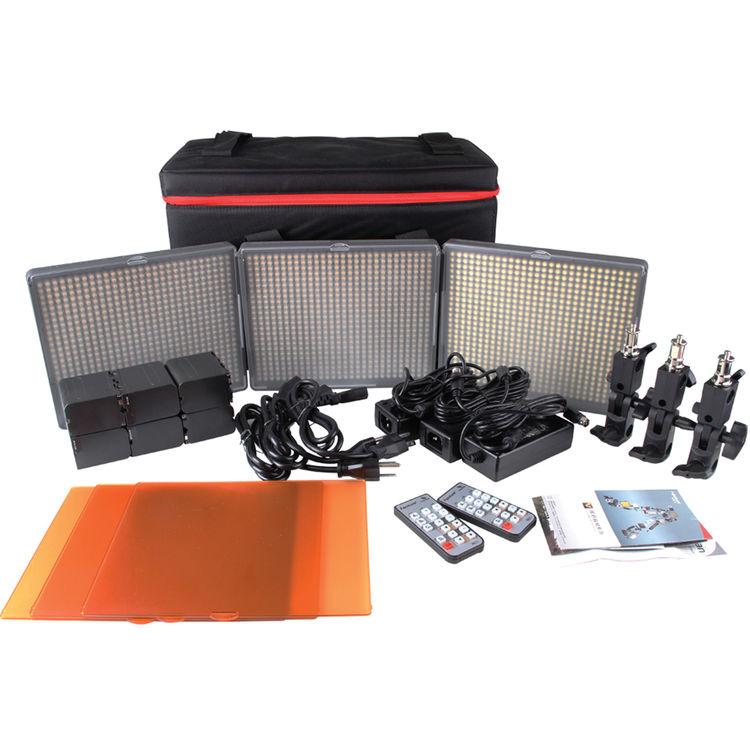 (PRE-ORDER) Aputure Amaran HR672 3-Light Kit (WWC)
