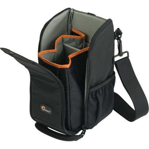 Lowepro S&F Lens Exchange Case 200 AW (Black)