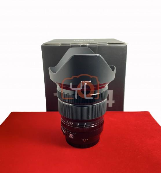 [USED-PJ33] Fujifilm 10-24MM F4 R XF OIS Super EBC, 95% Like New Condition (S/N:75A14905)