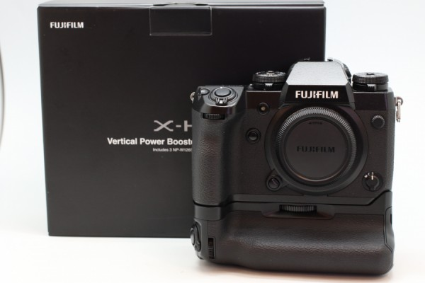 [USED-PUDU] Fujifilm X-H1 Battery Grip Kit (Black) 90%LIKE NEW CONDITION SN:82M51835