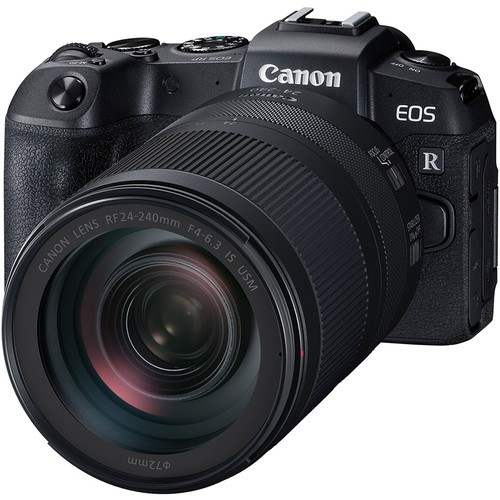 Canon EOS RP + RF 24-240mm F4-6.3 IS USM [Free EF-EOS R Lens Mount Adapter + SanDisk ExtremePRO 64GB SD Card]
