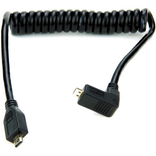 Atomos Right-Angle Micro to Micro HDMI Coiled Cable