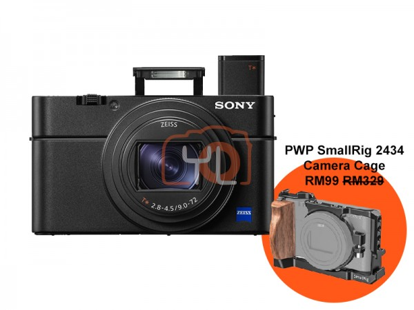 Sony RX100 Mark 6 Bundle SmallRig [Free 64GB SD Card + NP-BX1 + RX L.E Case]