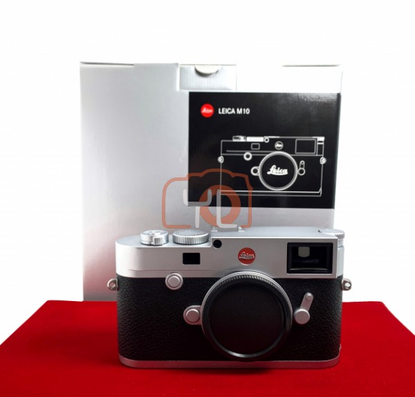 [USED-PJ33] Leica M10 Body (Silver), 80% Like New Condition (S/N:5253167)