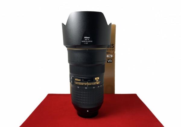 [USED-PJ33] Nikon 24-70MM F2.8 E VR AFS, 95% Like New Condition (S/N:2080724)