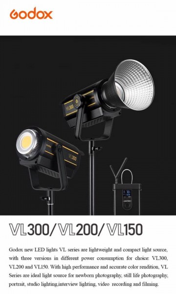 Godox VL300 300W LED Video Light
