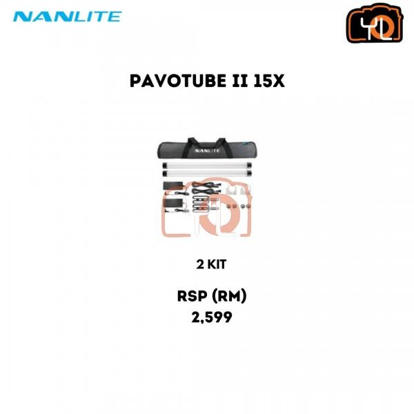 Nanlite PavoTube II 15X 2-Light Kit (2')