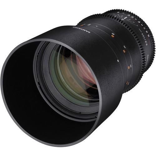 Samyang 135mm T2.2 AS UMC VDSLR II Lens for Nikon F Mount