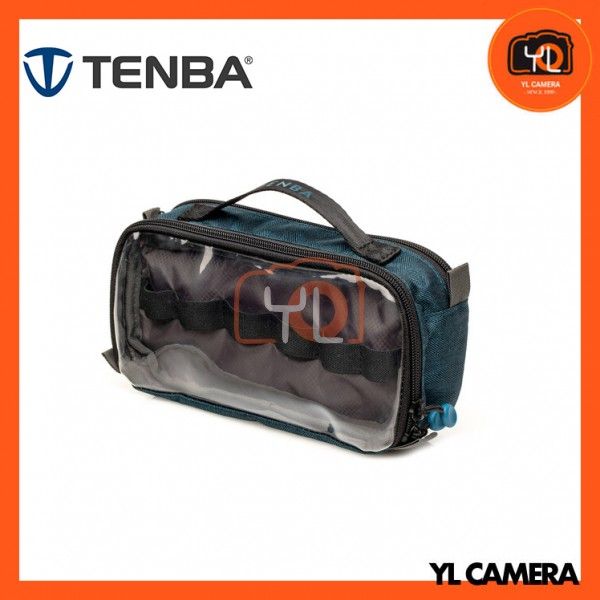 Tenba Tools-Series Duo 4 Cable Pouch (Blue)