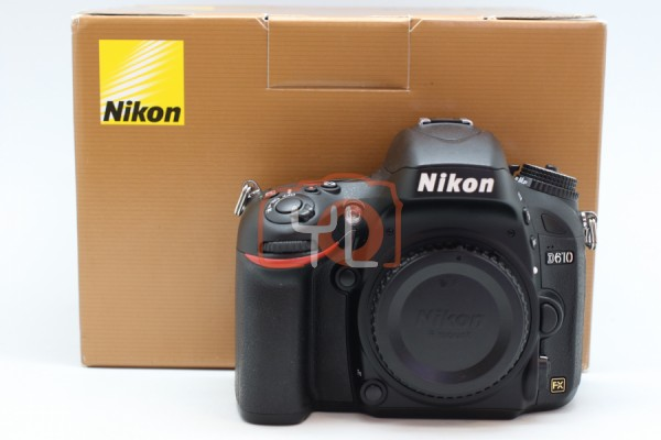 [USED-PUDU] NIKON D610 CAMERA BODY 95%LIKE NEW CONDITION SN:8503109