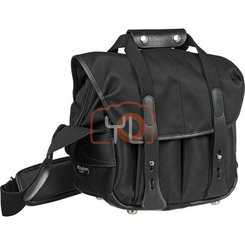 Billingham 107 Camera Bag (Black FibreNyte & Black)