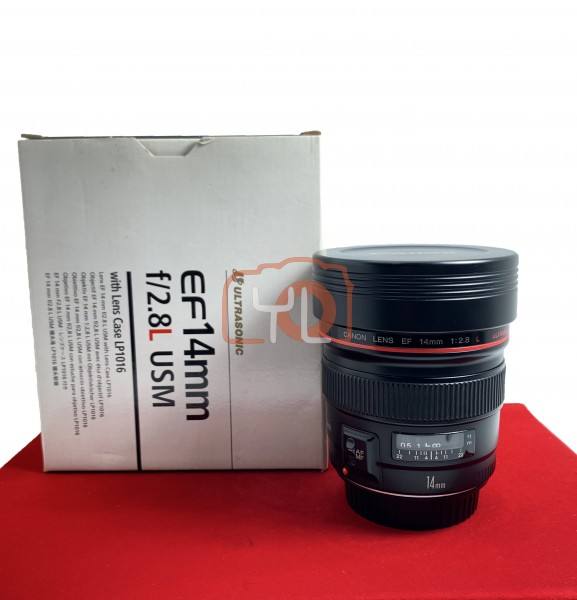 [USED-PJ33] CANON 14MM F2.8 L EF USM LENS, 90% Like New Condition (S/N:17918)