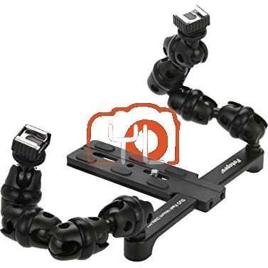 Fotopro DMM-903S Macro Twin Flash Flexible & Articulating Arms Bracket
