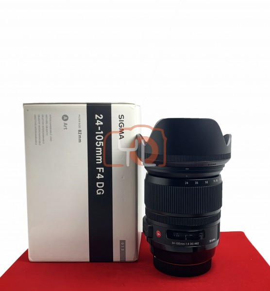 [USED-PJ33] Sigma 24-105MM F4 ART DG OS HSM (Canon), 95% Like New Condition (S/N:53148977)