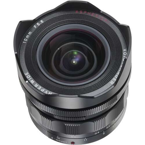 Voigtlander Heliar-Hyper Wide 10mm F5.6 Aspherical Lens for Sony E