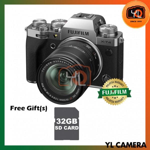 Fujifilm X-T4 + XF 18-55mm f/2.8-4R LM OIS - Silver