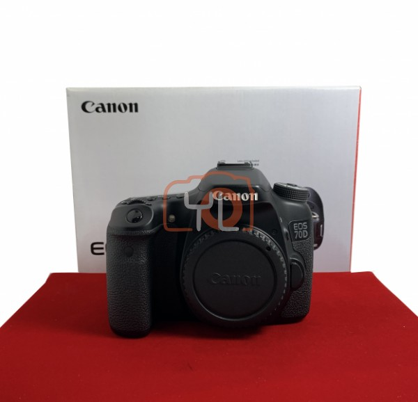 USED-PJ33] Canon Eos 70D Body (Shutter Court : 40K ) , 95% Like New Condition (S/N:12802601095)