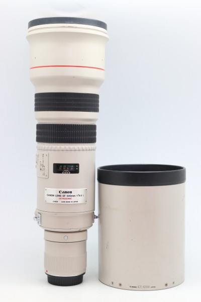 [USED-PUDU] CANON 500MM F4.5 EF L USM LENS 88%LIKE NEW CONDITION SN:11350