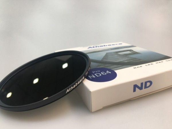 Athabasca 72MM PRO ND64 Neutral Density Filter