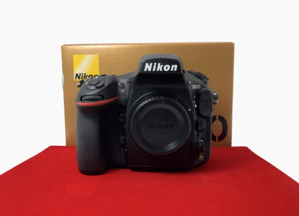 [USED-PJ33] Nikon D810 Body (SC:45K), 95% Like New Condition (S/N:8003062)