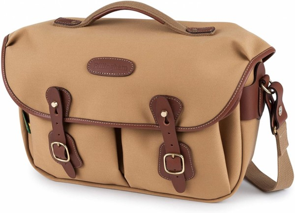 Billingham Hadley Pro 2020 Camera Shoulder Bag (Khaki Canvas/Tan Leather)