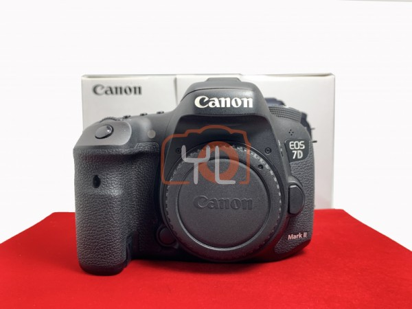 [USED-PJ33] Canon Eos 7D Mark II Body , 90% Like New Condition (S/N:38021000526)