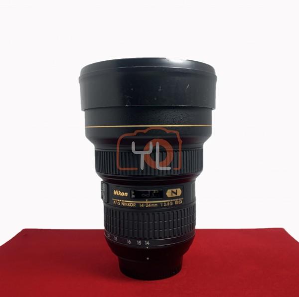 [USED-PJ33] Nikon 14-24mm F2.8G AFS ED Nano Lens, 95% Like New Condition (S/N:293452)